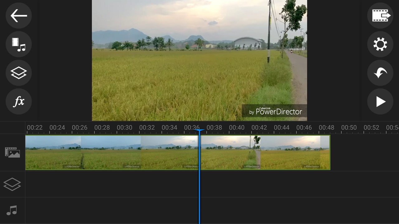 PowerDirector Editor video android terbaik