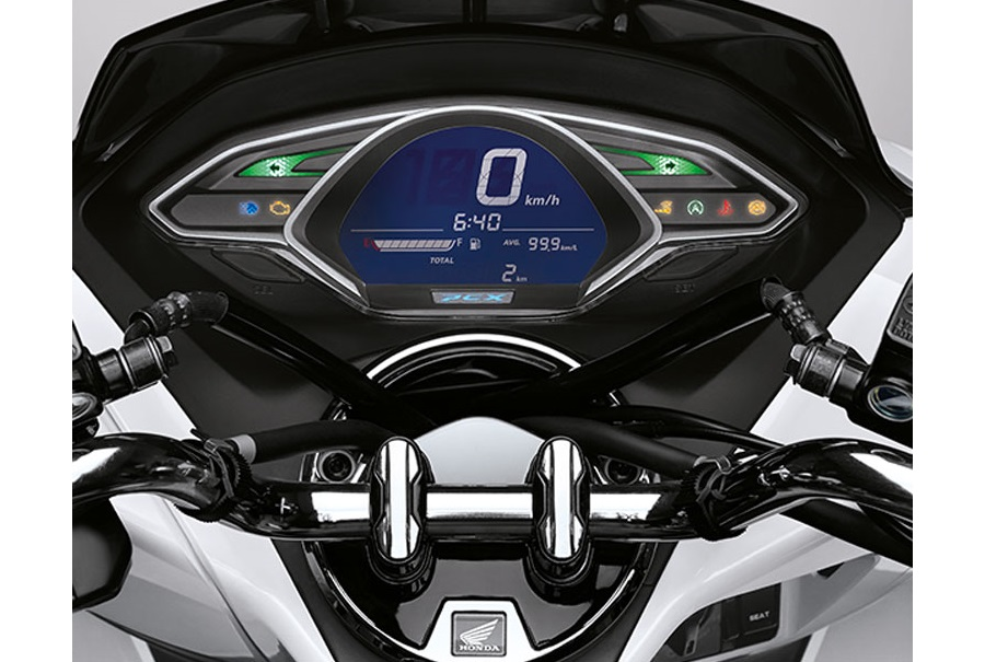 Honda PCX dashboard Indonesia