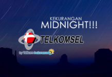 kekurangan paket internet kuota midnight telkomsel