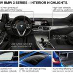 Fitur interior BMW Seri 3 2019 G20