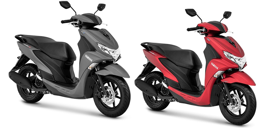 Harga FreeGo - Pilihan warna Yamaha FreeGo S version ABS doff matte