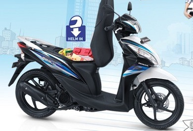 Honda spacy bagasi besar