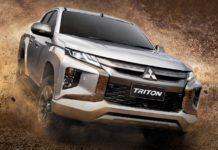 Galeri foto New Mitsubishi Triton L200 Facelift 2019