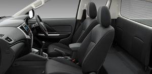 New Mitsubishi Triton L200 Facelift 2019 interior Mega cabin