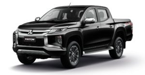 New Mitsubishi Triton L200 Facelift 2019 warna hitam black