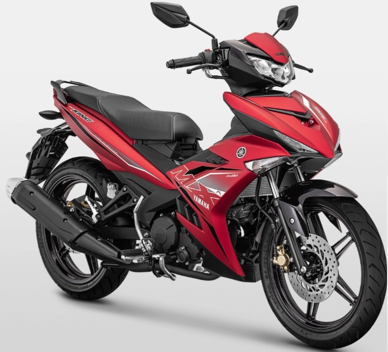 Harga MX King 2019 merah doff matte red