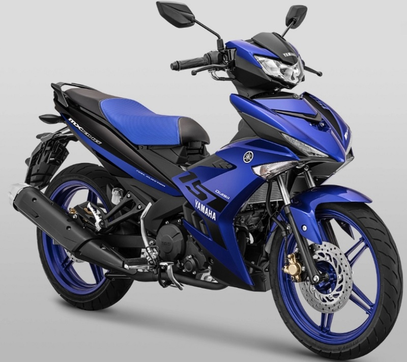Spesifikasi MX King 2019 warna biru