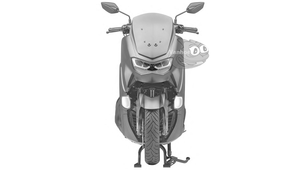 All new Yamaha NMax 2019 2020 lampu depan sipit