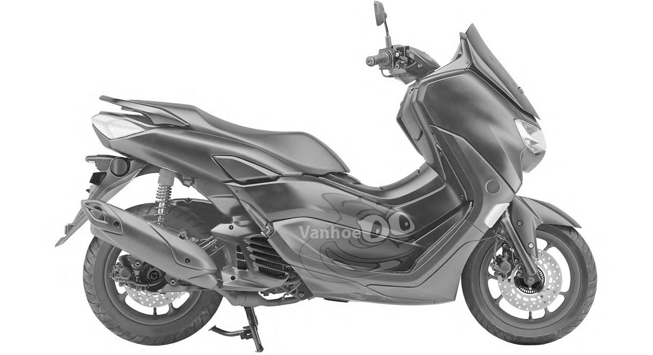 Bocoran All New NMax 2020 dari samping