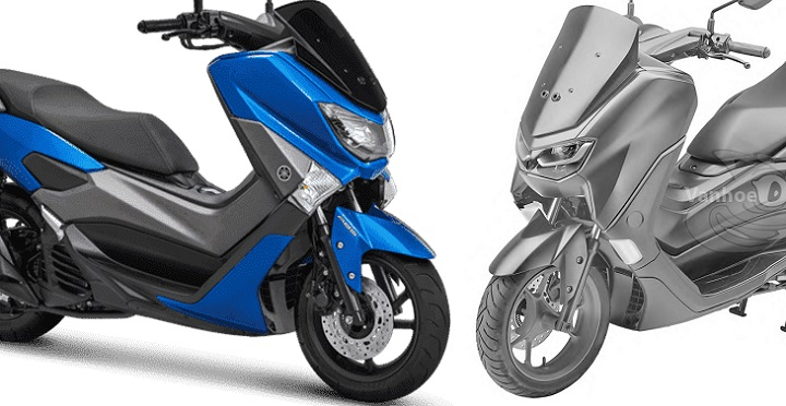 Yamaha NMax old dan All New NMax 2019