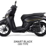 Honda Genio Smart Black Hitam CBS