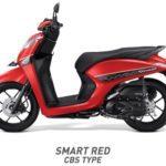 Honda Genio Smart Merah CBS