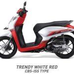 Honda Genio Trendy Putih Merah CBS ISS