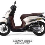 Honda Genio Trendy white putih CBS ISS
