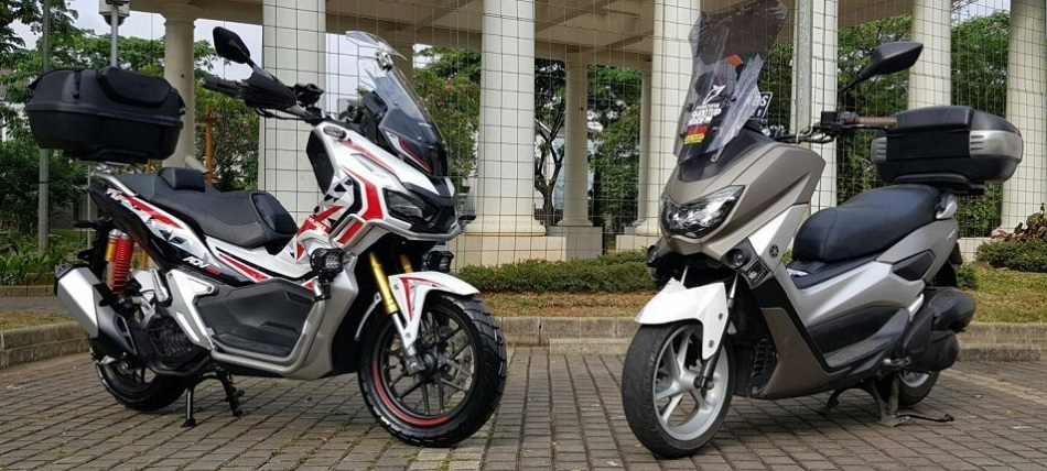 Honda ADV150 vs Yamaha NMAX by sumarlin