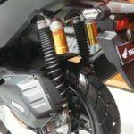 Suspensi dengan tabung Honda ADV150