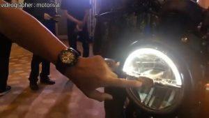 Yamaha XSR155 nyala lampu LED