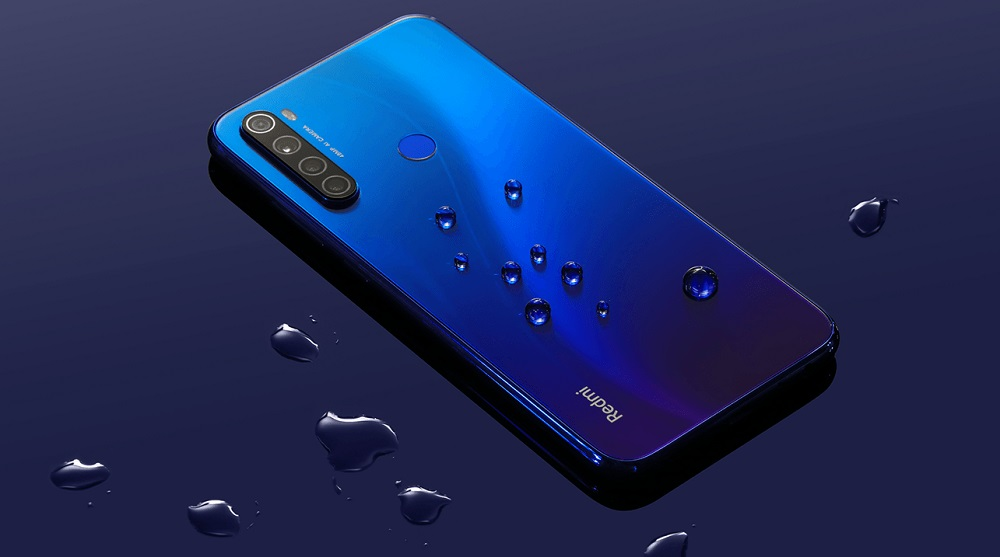 Redmi note 8 splash proof tahan cipratan air