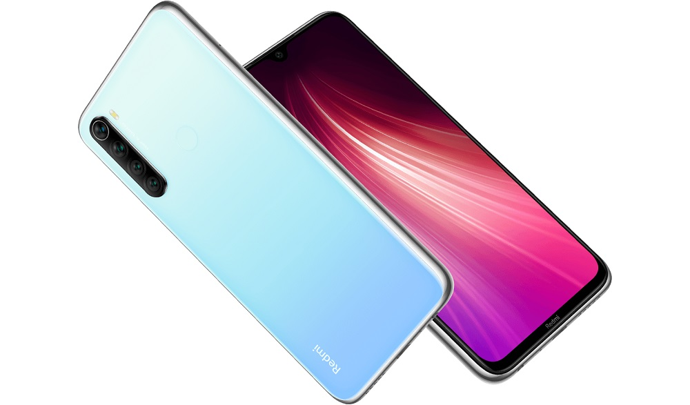 Redmi note 8 warna moonlight white