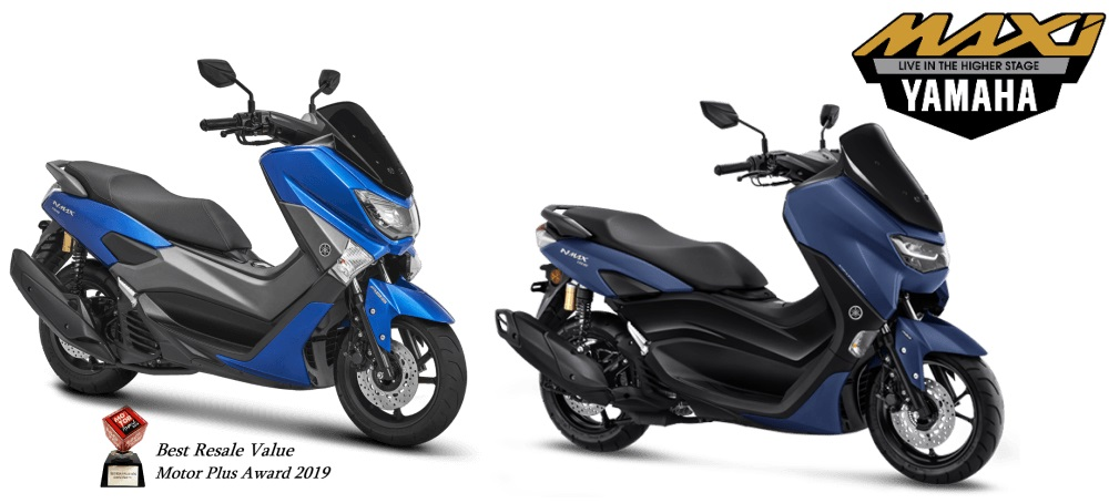 Birunya NMax 155 lama vs All New NMAX baru