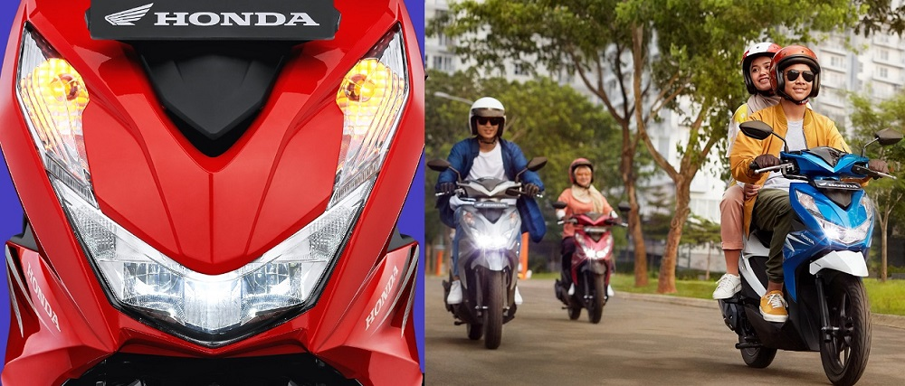 Lampu LED headlights All New Honda BeAT 2020