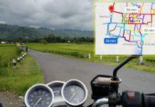 Tips trik menggunakan google maps untuk touring motor di kota
