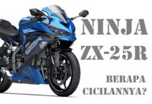 Harga cicilan kredit Kawasaki Ninja ZX-25R Terbaru