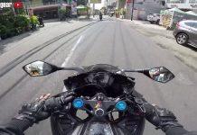 biar naik motor sport fairing gak pegel